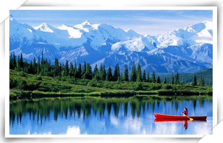 欣赏世界上最纯净的北国风景~彷如画作的山,水,天绝世美景.